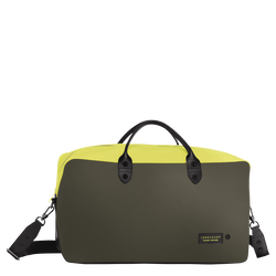 Travel bag, E84 Neon/Khaki, hi-res