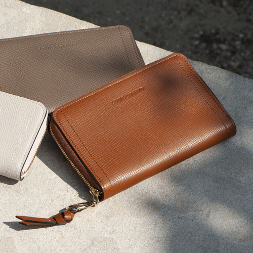 Mailbox Compact wallet, Taupe