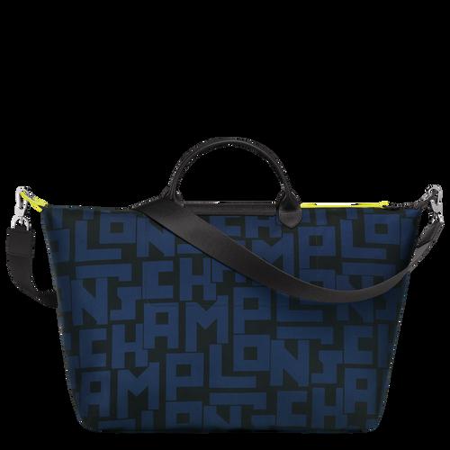 Travel bag L, Black/Navy - View 3 of 3 -