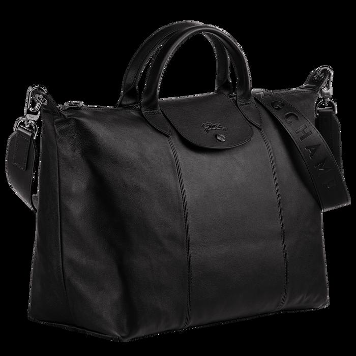 Top handle bag L, Black/Ebony - View 2 of 4 - zoom in