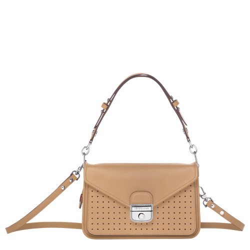 Crossbody bag S, Beige, hi-res - View 1 of 3