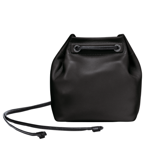 Mini bucket bag, Black, hi-res - View 3 of 3