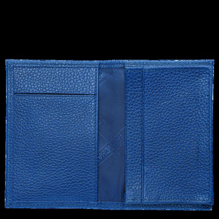 Le Foulonné Card holder, Sapphire