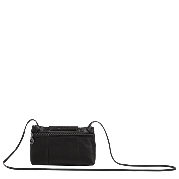 Le Pliage Cuir Crossbody bag, Black
