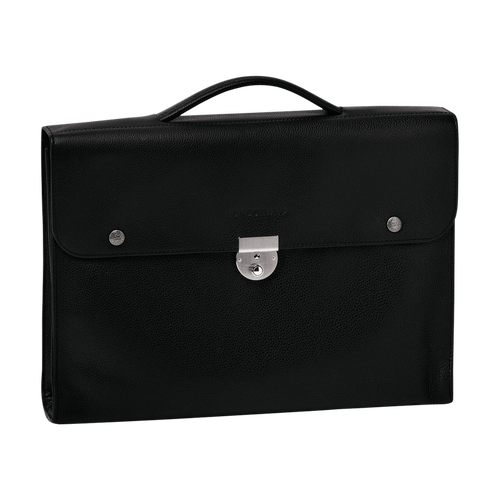 Briefcase M, Black, hi-res - View 1 of 1
