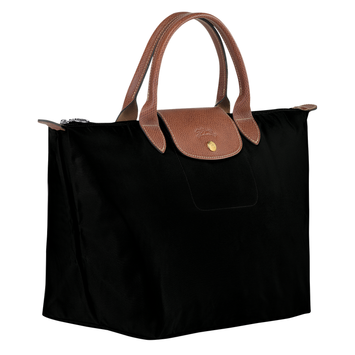 Le Pliage Original Top handle bag M, Black