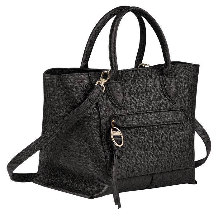 Mailbox Top handle bag M, Black