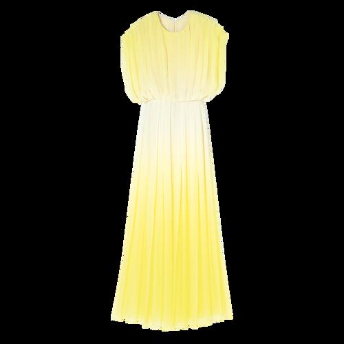 Long dress, Yellow, hi-res - View 1 of 1
