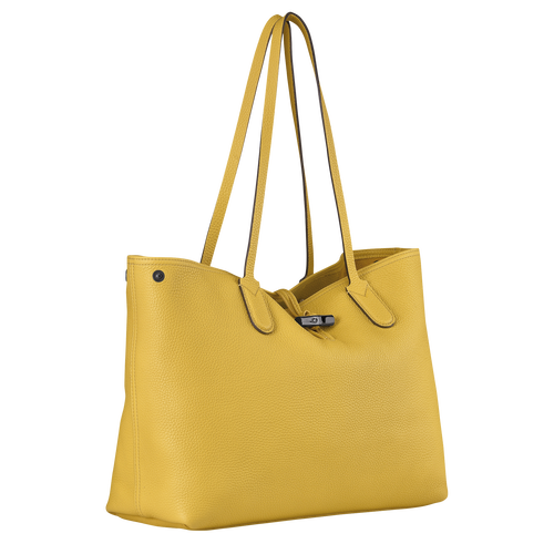 Shoulder  bag L, Yellow - View 3 of  4 -