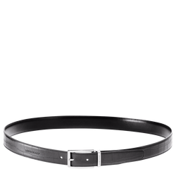 Men's belt, 001 Black, hi-res