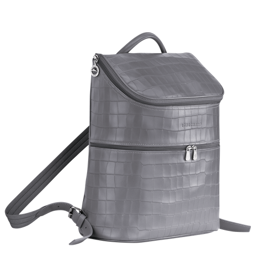View 2 of Backpack, Grey, hi-res