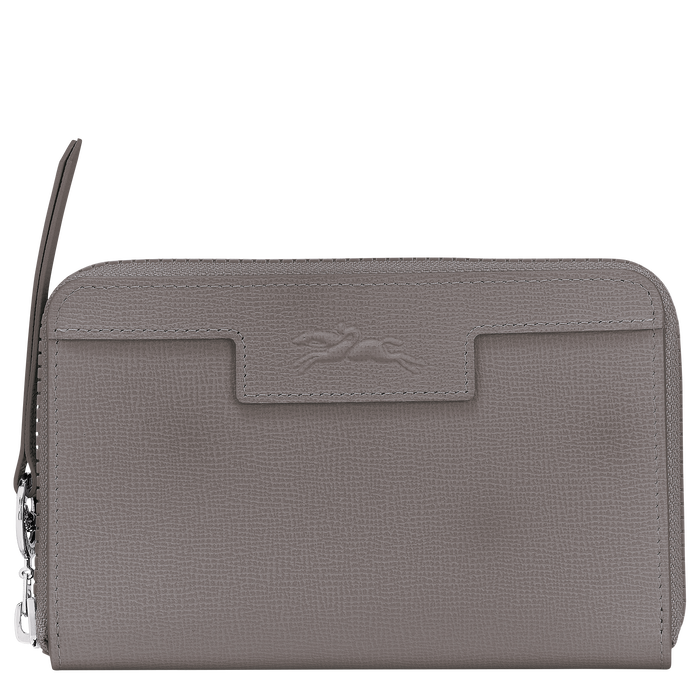 Compact wallet, Cement, hi-res - View 1 of 2