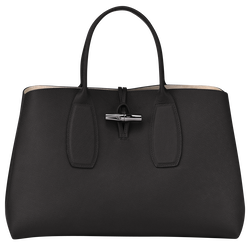 Top handle bag L, Black, hi-res
