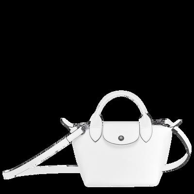 Mini top-handle bag, White, hi-res