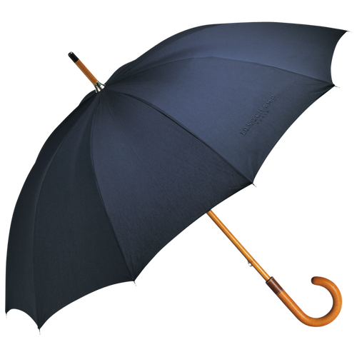 Walking stick umbrella, Navy, hi-res - View 1 of 1
