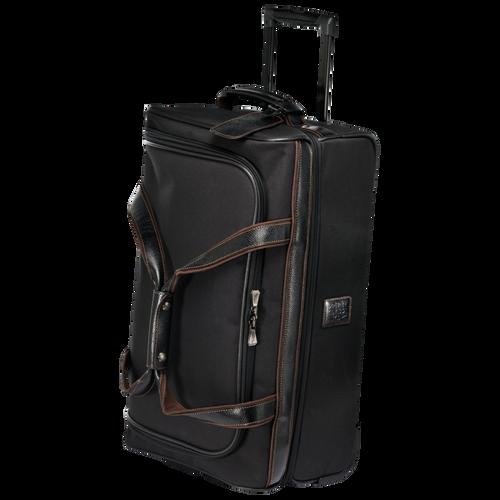 Reisetasche mit Rollen, Schwarz/Ebenholz - Ansicht 2 von 3 -