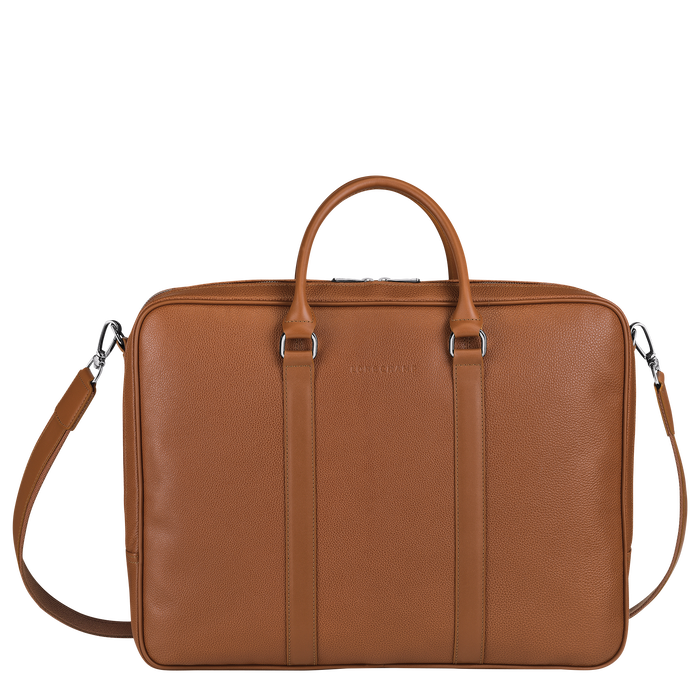 Briefcase L, Caramel - View 1 of  3 - zoom in
