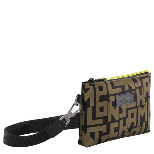 Pouch, Black/Khaki, hi-res - View 2 of 3