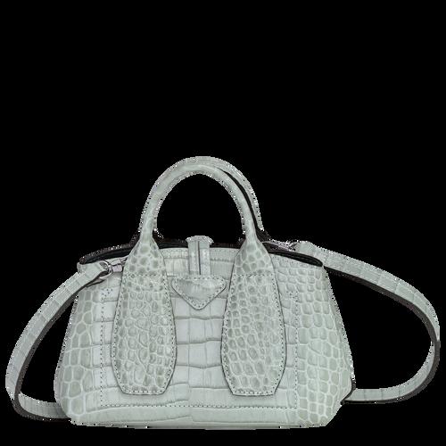 Roseau Top handle bag XS, Jade