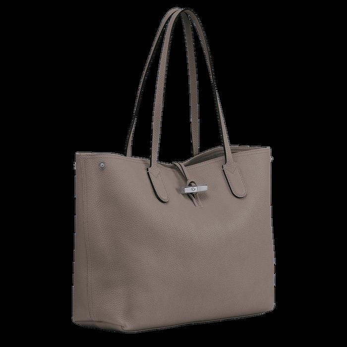 Shoulder bag L Roseau Grey (L2694968112) | Longchamp US