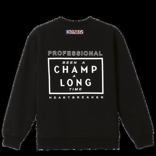 Longchamp x EU Sweatshirt, Schwarz