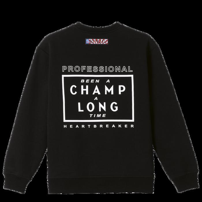 Longchamp x EU Sweatshirt, Black