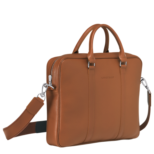 Briefcase XS, Caramel - View 2 of 3 -