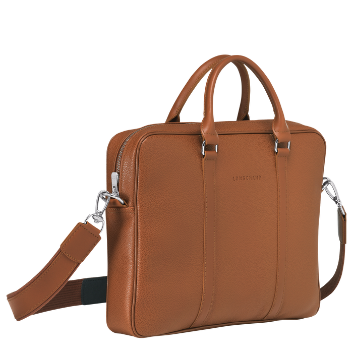 Briefcase XS, Caramel - View 2 of 3 - zoom in