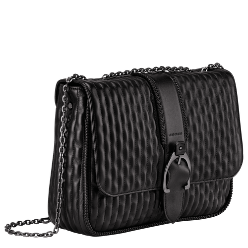 Crossbody bag L, Black/Ebony - View 2 of 3 -