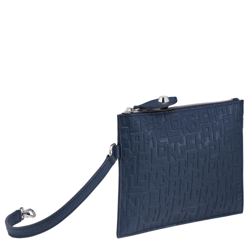 Flat pouch, Navy, hi-res - View 2 of 3