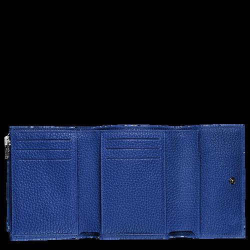 Vue 2 de Portefeuille compact, Cobalt, hi-res