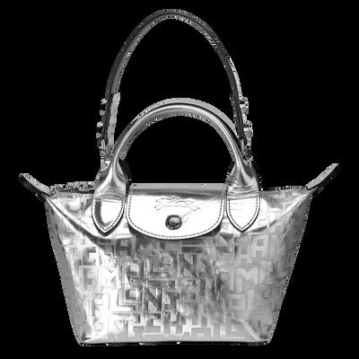 迷你手提包, 銀色, hi-res