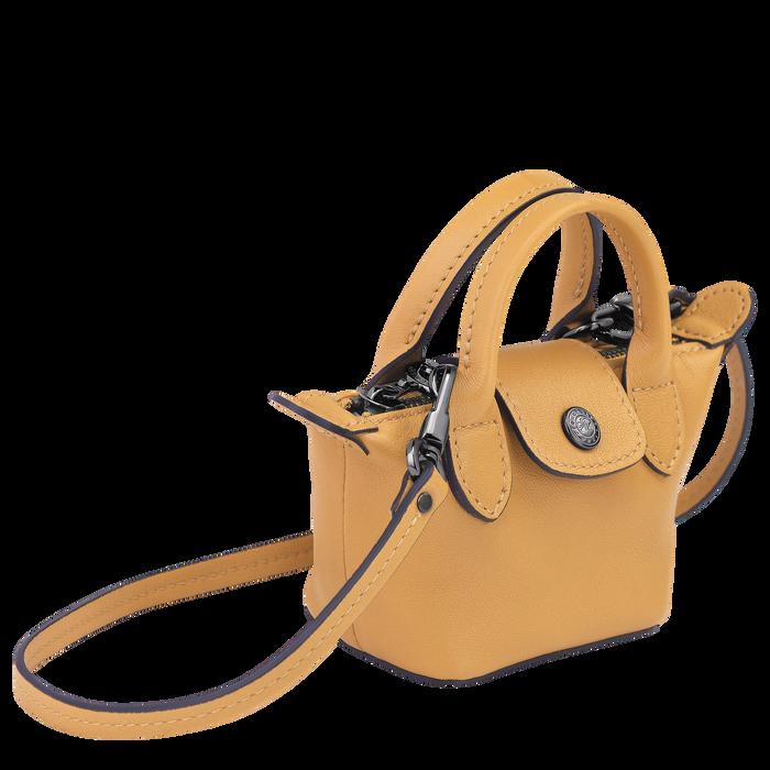 Le Pliage Cuir Crossbody bag XS, Honey