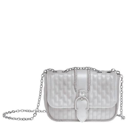 Crossbody bag XS, Pearl, hi-res - View 1 of 3