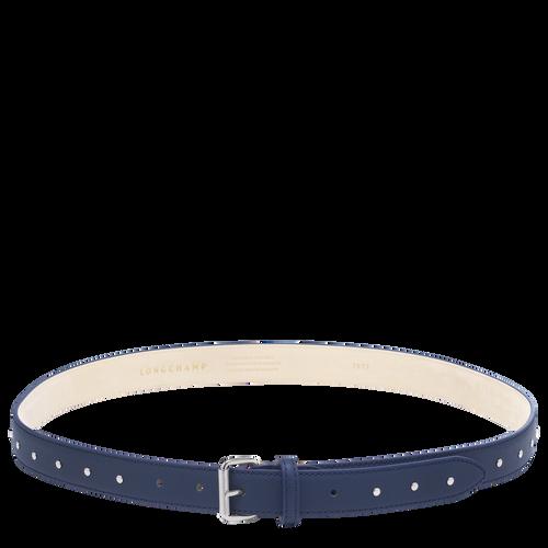 View 1 of Ladies' belt, Navy, hi-res