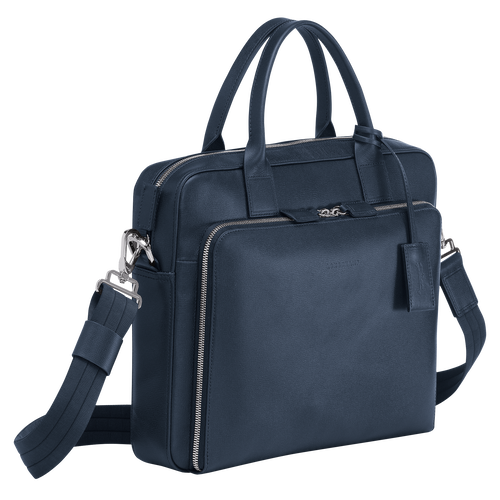 Briefcase S, Navy - View 2 of  3 -