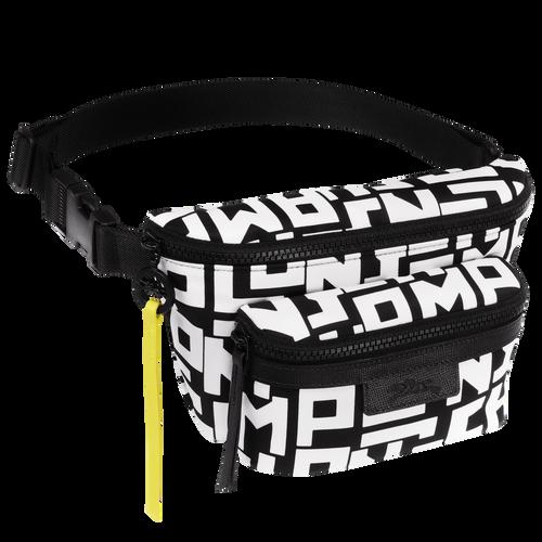 Belt bag M, Black/White - View 2 of  3 -
