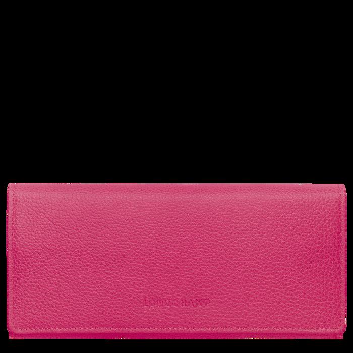 Lange Geldbörse mit Überschlag, Pink, hi-res - View 1 of 3