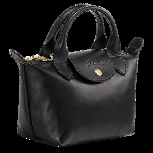 View 2 of Mini top-handle bag, Black, hi-res