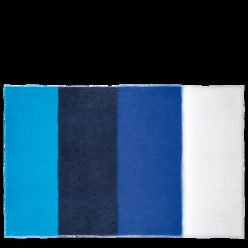 Damenschal, Blau - Ansicht 1 von 1 -
