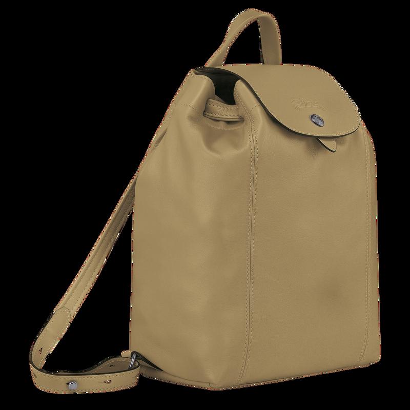 Le Pliage Cuir Backpack, Khaki