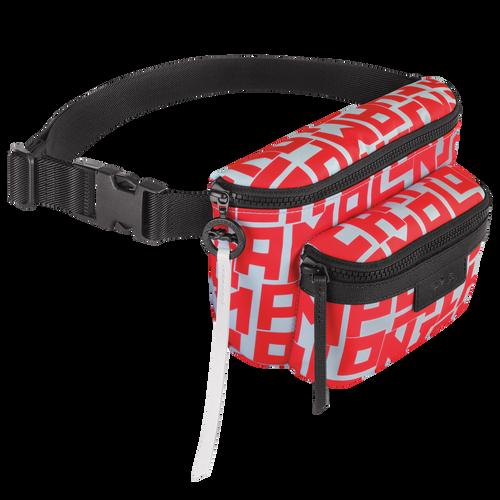 Belt bag M, Sage/Poppy - View 2 of  3 -