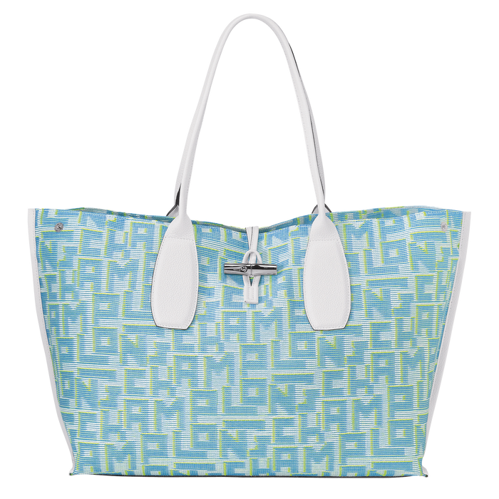 Shoulder bag XL, Blue, hi-res - View 1 of 3