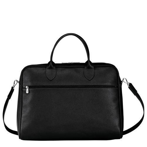 Briefcase L, Black - View 3 of 4 -