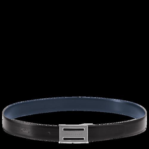 Men's belt, Black/Navy - View 1 of 1 -