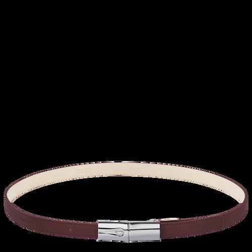 Roseau Ladies' belt, Burgundy