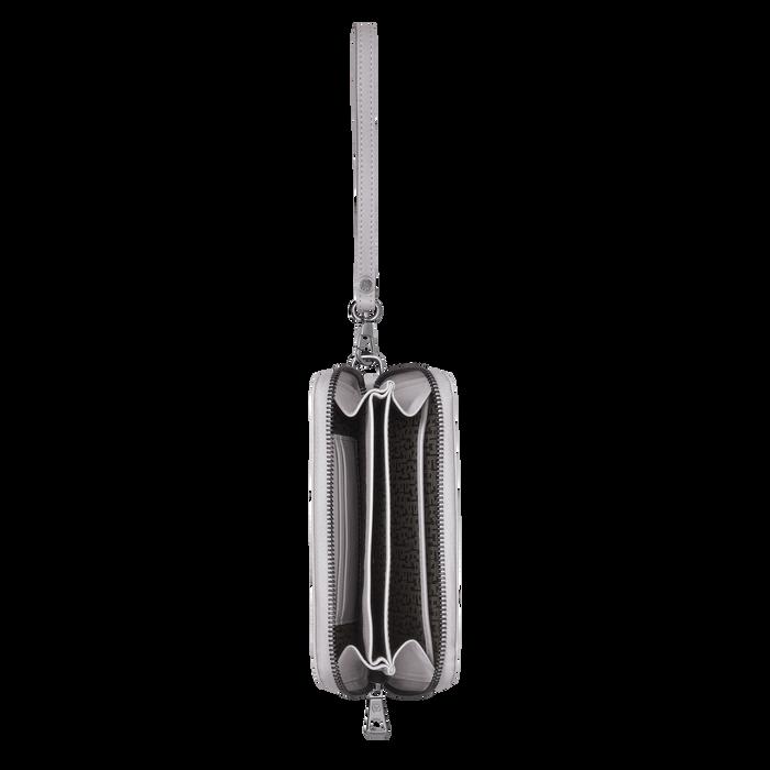 Brieftasche im Kompaktformat, Grau - Ansicht 2 von 2 - Zoom vergrößern