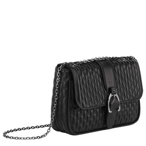 Crossbody bag M, Black/Ebony - View 2 of  3 -