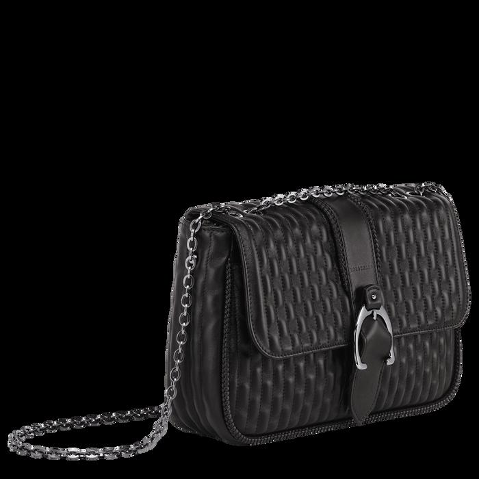 Crossbody bag M, Black/Ebony - View 2 of  3 - zoom in