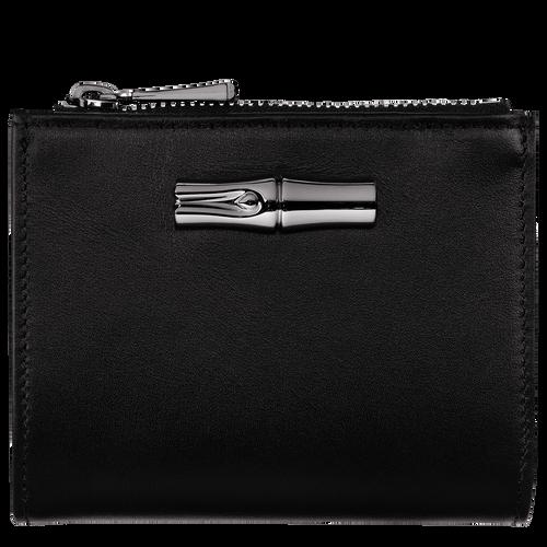 Roseau Compact wallet, Black
